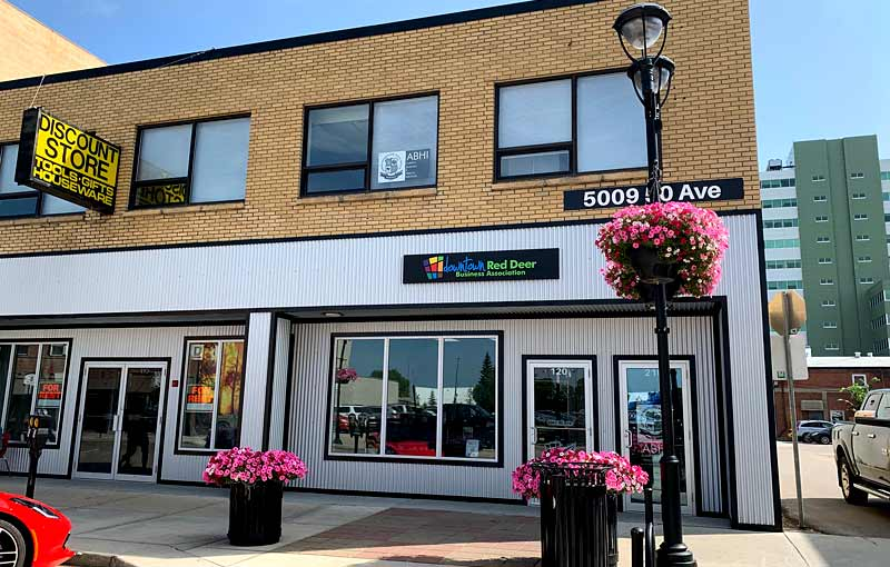 Downtown Red Deer ideal for start-up businesses and entrepreneurs