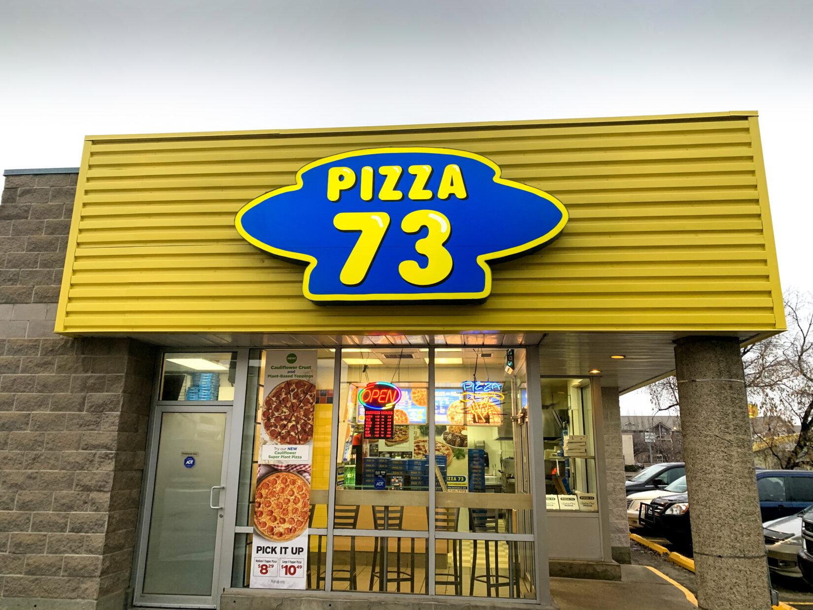 Business Spotlight: Pizza 73